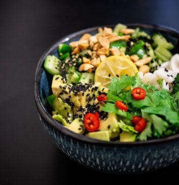 gezonde voeding salade